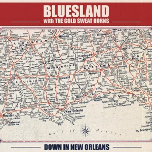 Bluesland CD Front Cover
